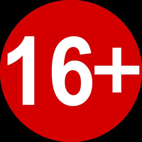 Возрастное ограничение 16+